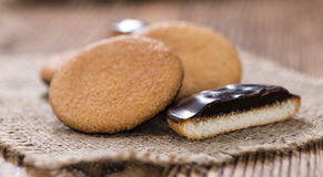 Some Jaffa Cakes Stock Images