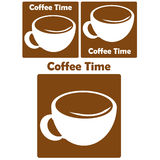 Coffee logo. Some kind of coffee logo and icon Royalty Free Stock Photography