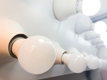 Some LED bulbs. New technology of lighting and saving technology Stock Images