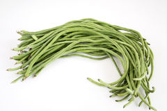 Some long beans. Some Chinese long beans background Stock Image