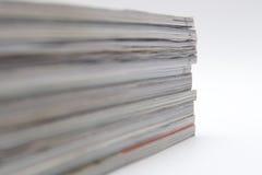 Some magazines Royalty Free Stock Photo