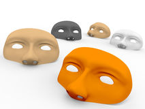 Some masks Stock Photography