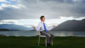 Some minutes of isolation! Stock Photography