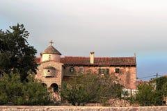 Some monastery in Istria. Peroj Royalty Free Stock Photo