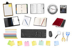 Some office and business supplies. Stock Photos