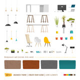 Some office furniture Stock Photos