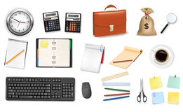 Some office supplies. Stock Image