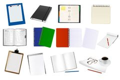 Some office supplies. Royalty Free Stock Photography