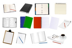 Some office supplies. Vector. Royalty Free Stock Photography