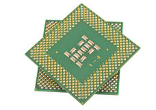 Some old CPU Royalty Free Stock Image