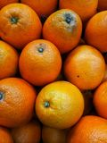 Oranges. Some oranges in a local market royalty free stock photo
