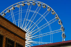 Some part of Ferris wheel. At shopping mall named Asiatique in bangkok thailand Stock Photos