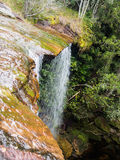 Some part of waterfall  of phu kradueng national park Stock Images