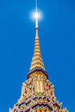 Some parts of Buddha temple Royalty Free Stock Photos