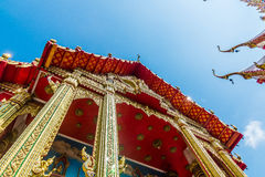 Some parts of Buddha temple Royalty Free Stock Photography