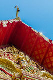 Some parts of Buddha temple Royalty Free Stock Images