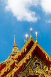 Some parts of Buddha temple. There are many amazing temple in Thailand Stock Photo