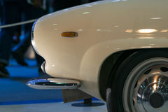Some parts of the car show in event Royalty Free Stock Photo