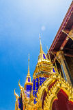 Some parts of Grand Palace. Grand Palace or Wat Phra Kaeo is amazing temple in Thailand Stock Photography