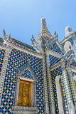 Some parts of Grand Palace. Grand Palace or Wat Phra Kaeo is amazing temple in Thailand Royalty Free Stock Photos