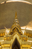 Some parts of Grand Palace. Grand Palace or Wat Phra Kaeo is amazing temple in Thailand Royalty Free Stock Photography