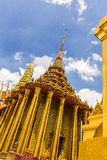 Some parts of Grand Palace. Grand Palace or Wat Phra Kaeo is amazing temple in Thailand Stock Image