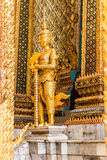 Some parts of Grand Palace. Grand Palace or Wat Phra Kaeo is amazing temple in Thailand Stock Photos