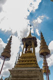Some parts of Grand Palace. Grand Palace or Wat Phra Kaeo is amazing temple in Thailand Stock Images