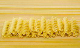 Some pasta and spaghetti Stock Photography