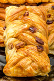 Some pastries filled by honey syrup and sprinkled by pecan nuts Stock Photography