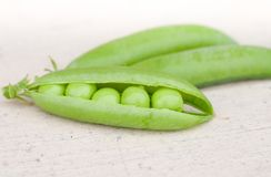 Some pea pods Stock Photography