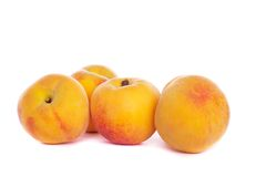 Some peaches Royalty Free Stock Photography