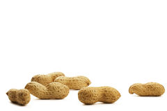 Some peanuts Royalty Free Stock Images