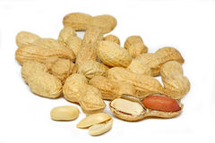 Some peanuts Stock Images