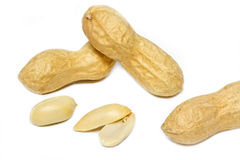 Some peanuts Stock Photo