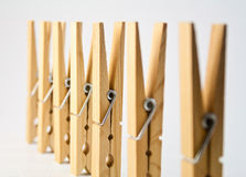 Some pegs Royalty Free Stock Image