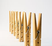 Some pegs 2 Royalty Free Stock Images