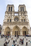 Notre Dame cathedral, Paris Stock Images