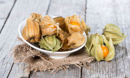 Some Physalis Fruits Royalty Free Stock Photo