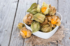 Some Physalis Fruits Stock Image