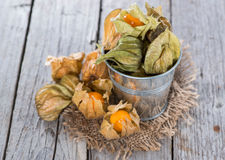 Some Physalis Fruits Royalty Free Stock Image