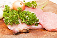 Some pieces of meat Stock Photos