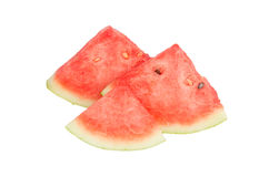 Some pieces of refreshing watermelon Stock Images