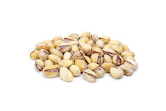 Some pistachios Stock Photography