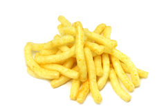 Some potato snacks Royalty Free Stock Photography