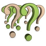 Some question mark Stock Images