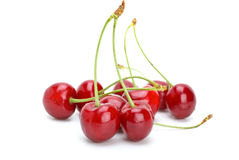 Free Some Red Cherries Royalty Free Stock Photo - 10050695
