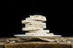 Some Rice Cakes Stock Photos