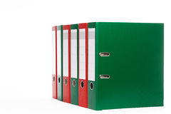 Some ring binders Royalty Free Stock Images