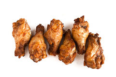 Some roast chicken drumstick. Five tasty small roast chicken drumstick Stock Photos